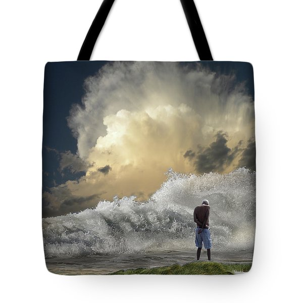 Tote Bag featuring the photograph 4457 by Peter Holme III