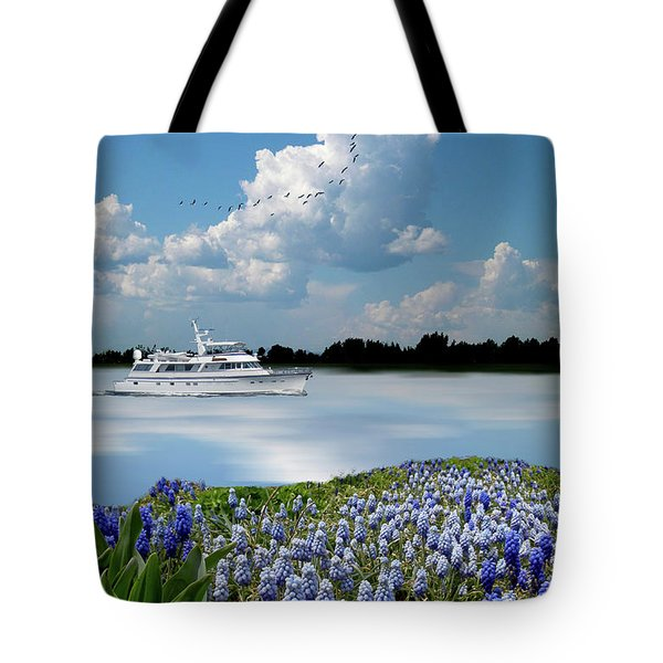 Tote Bag featuring the photograph 4464 by Peter Holme III