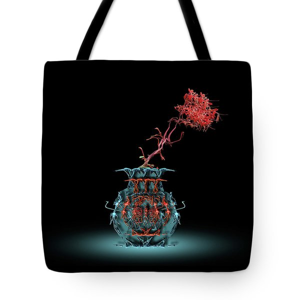 Tote Bag featuring the photograph 4469 by Peter Holme III