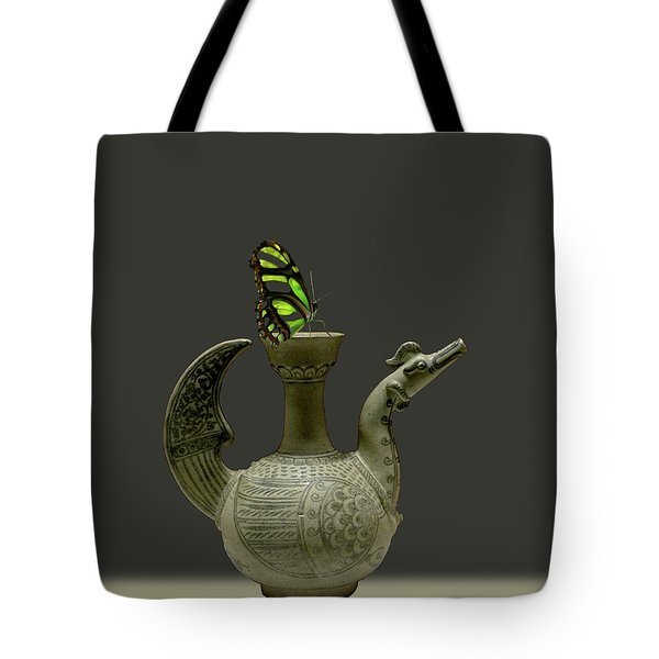 Tote Bag featuring the photograph 4482 by Peter Holme III