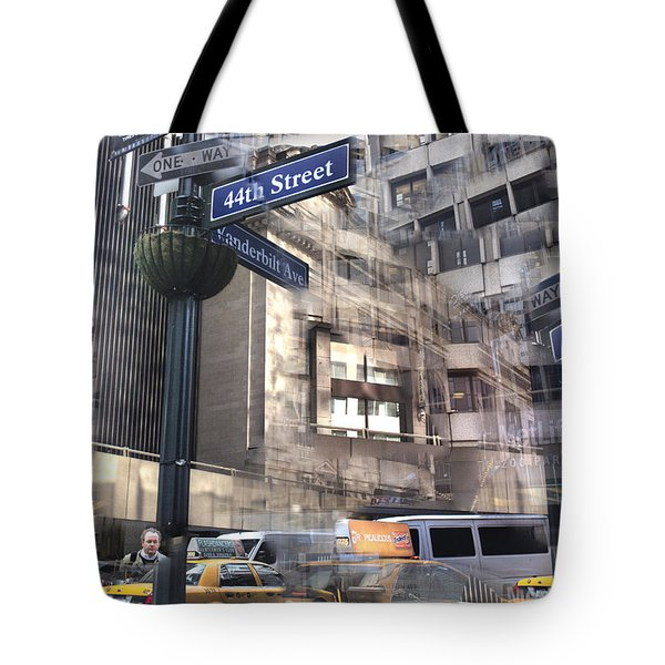 44th And Vanderbilt Collage Tote Bag