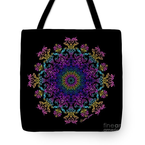 45 Degrees Of Separation Tote Bag
