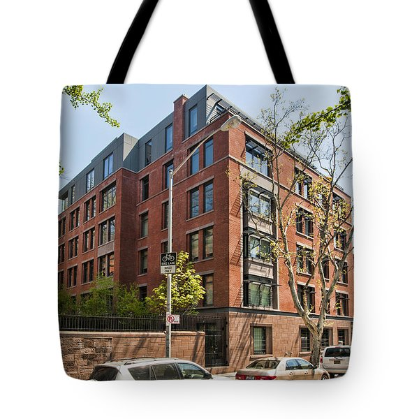 Tote Bag featuring the photograph 455 W 20th 2 by Steve Sahm