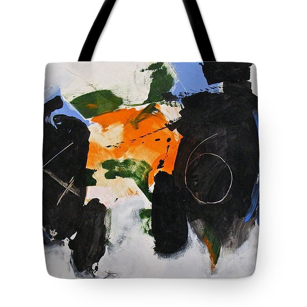Tote Bag featuring the painting 46 by Cliff Spohn