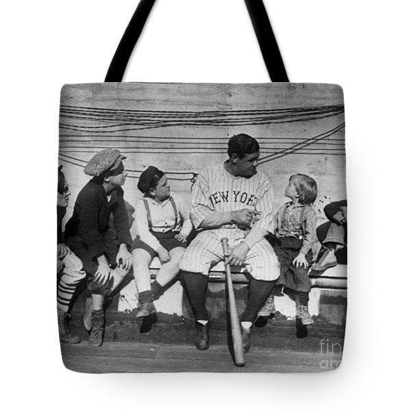 George H. Ruth (1895-1948) Tote Bag by Granger