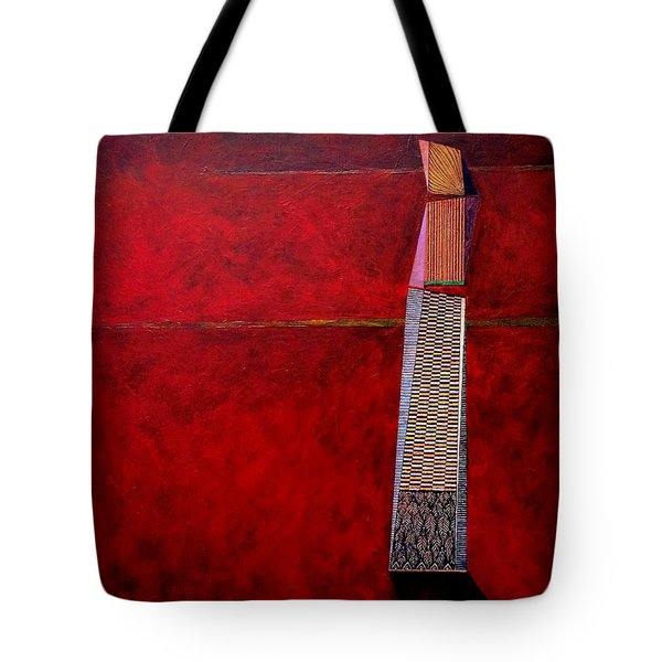 Tote Bag featuring the painting Valley Of Man by James Lanigan Thompson MFA