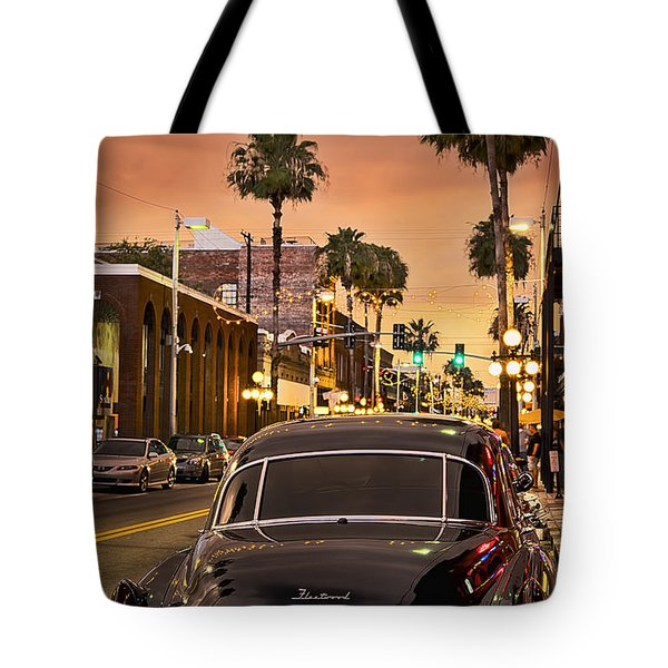 Tote Bag featuring the photograph 48 Cadi by Steven Sparks
