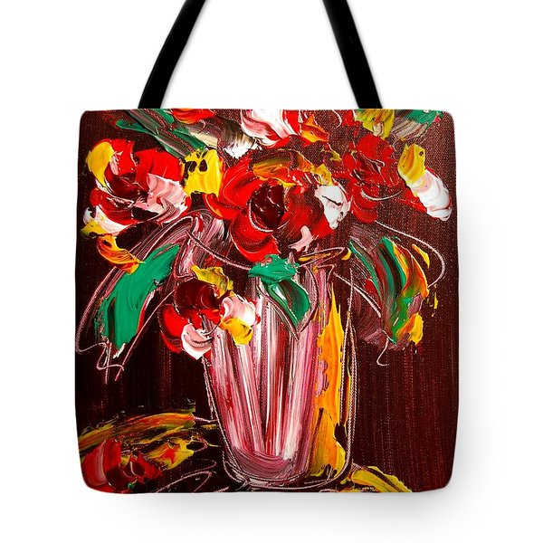 Flowers Tote Bag by Mark Kazav