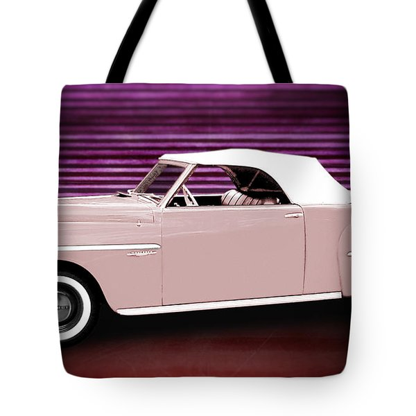 49 Dodge Wayfarer Roadster Tote Bag