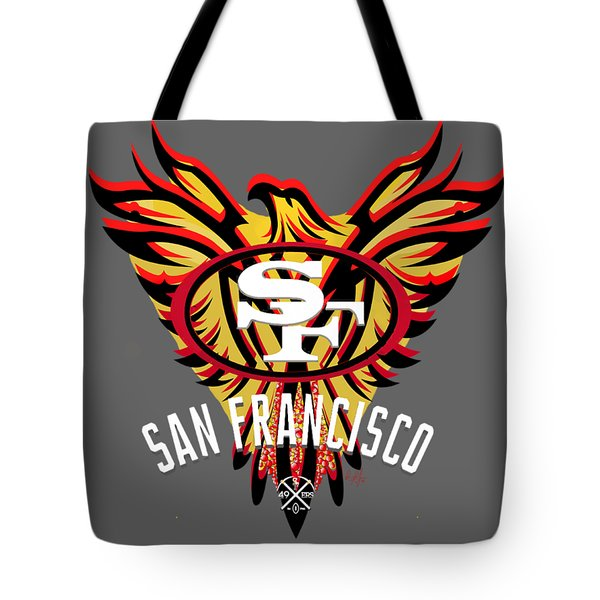 49er Phoenix  Tote Bag