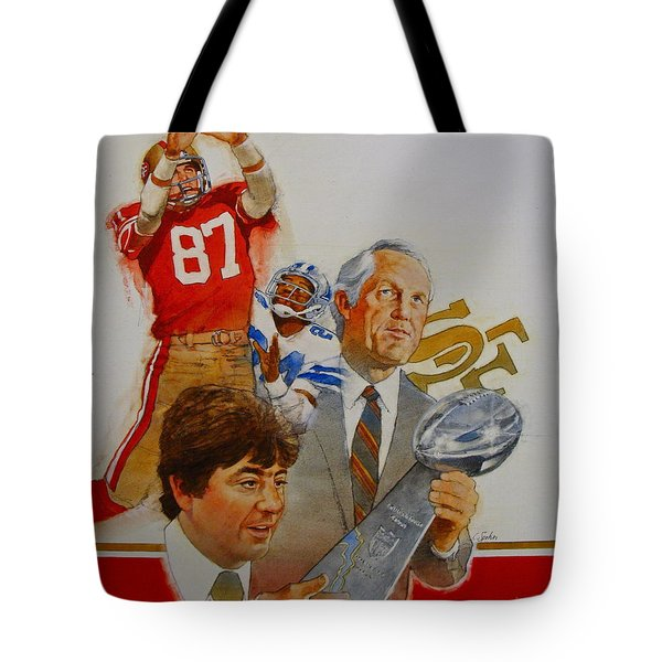 49rs Media Guide Cover 1982 Tote Bag
