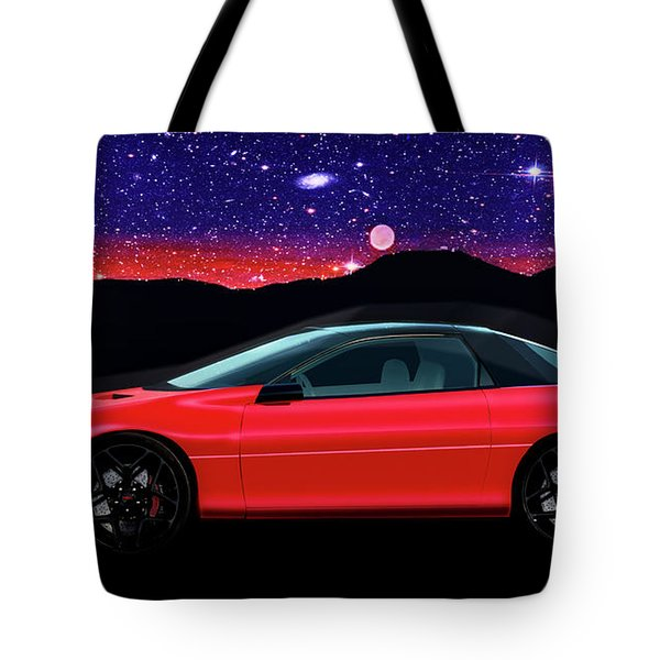 4th Generation Z28 Camaro Tote Bag