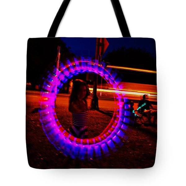 4th Of July - Glow Sticks On A String Tote Bag