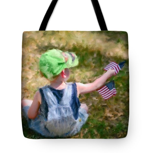 Tote Bag featuring the photograph 4th Of July by Mary Timman
