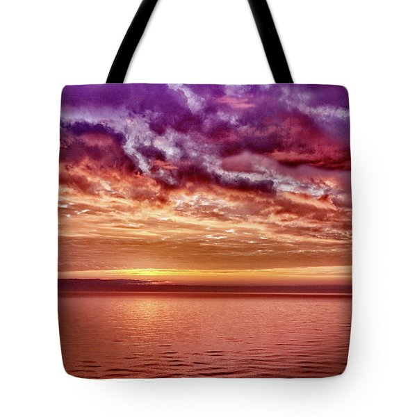 4th Of July Sunset Tote Bag