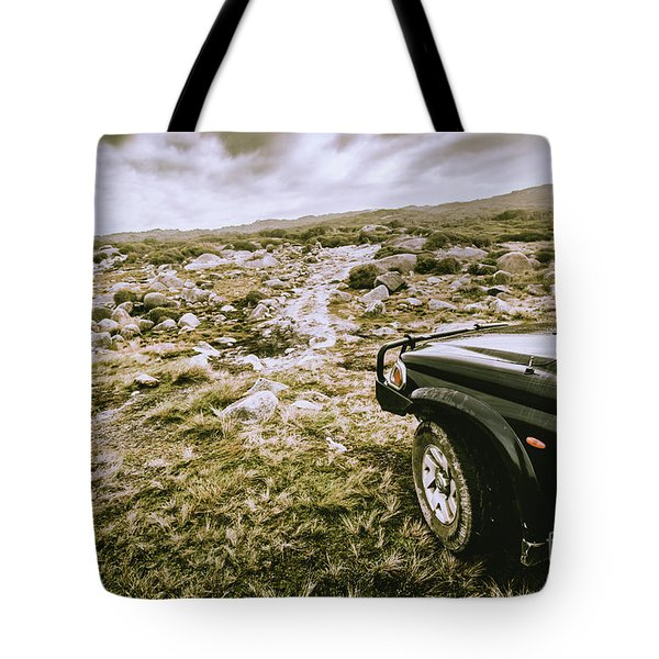 4wd On Offroad Track Tote Bag
