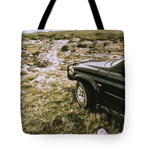 4x4 Tour Tasmania Tote Bag