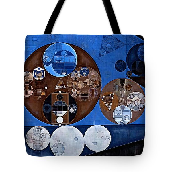 Tote Bag featuring the digital art Abstract Painting - Ghost by Vitaliy Gladkiy