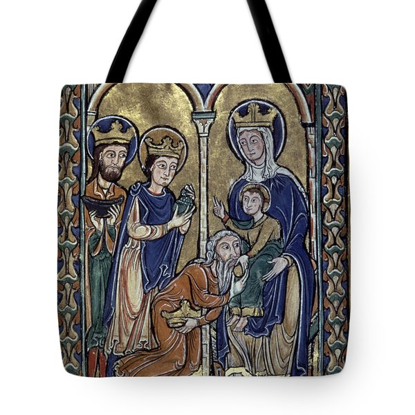 Adoration Of Magi Tote Bag by Granger