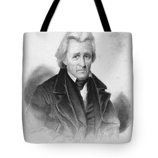 Andrew Jackson (1767-1845) Tote Bag by Granger