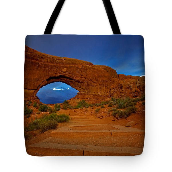 Tote Bag featuring the photograph Arches by Evgeny Vasenev
