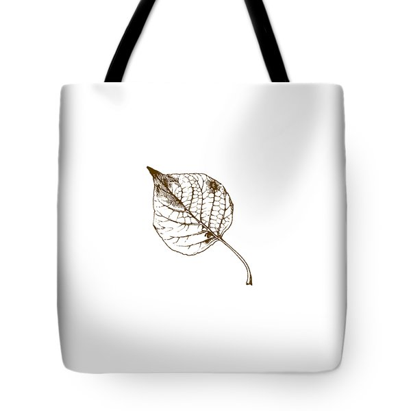 Autumn Day Tote Bag by Chastity Hoff