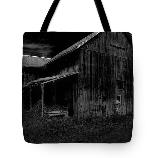 Barns In Pacific Northwest Tote Bag