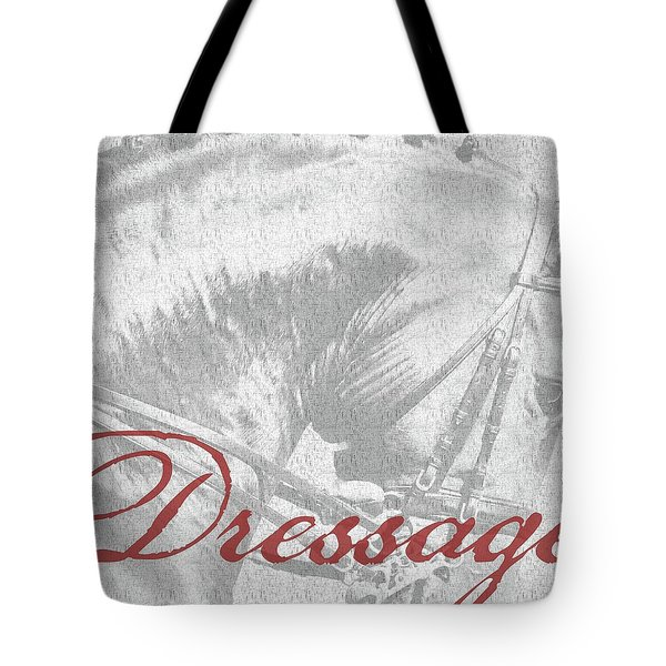 Be Equestrian Dressage Tote Bag
