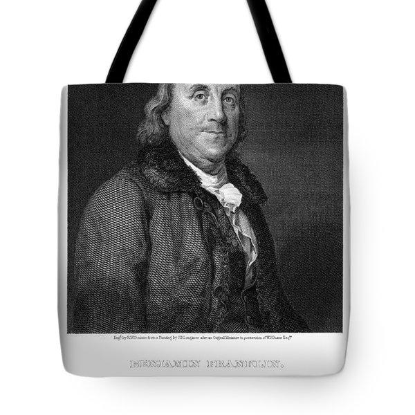 Benjamin Franklin Tote Bag by Granger