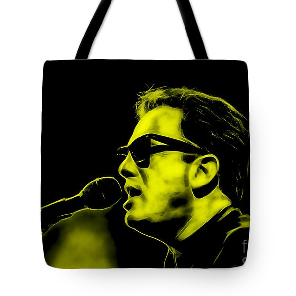 Billy Joel Collection Tote Bag by Marvin Blaine