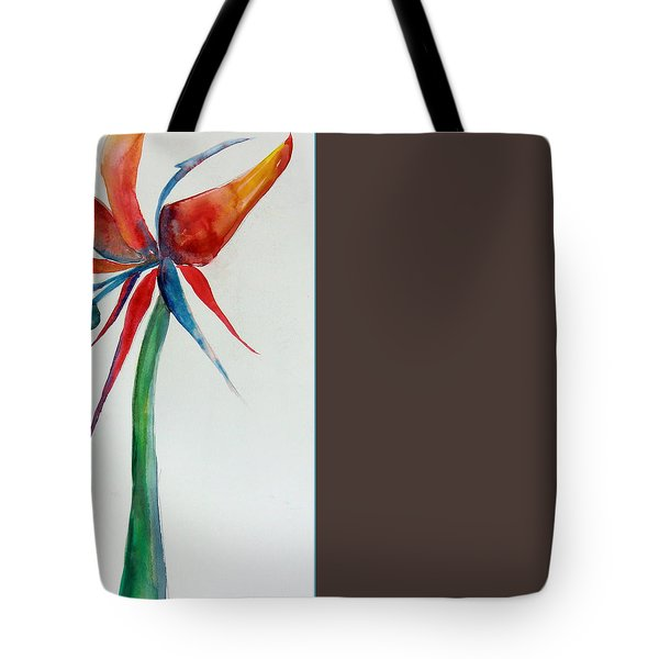 A Bird Of Paradise Tote Bag