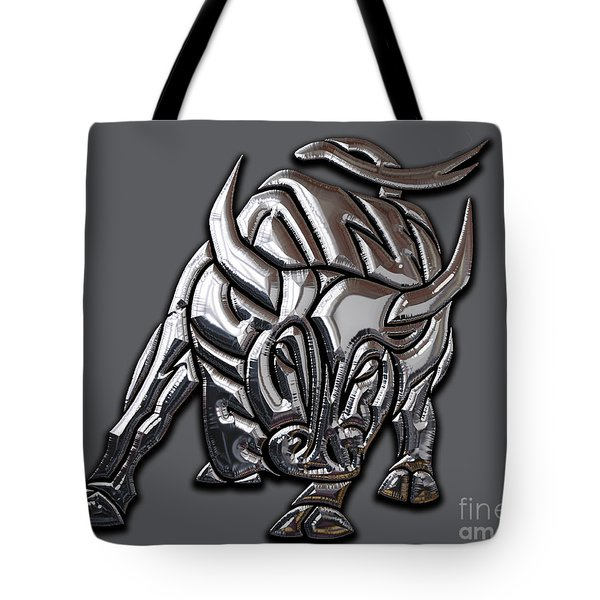 Bull Collection Tote Bag