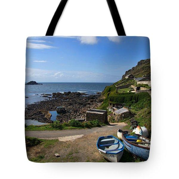 Cape Cornwall Tote Bag