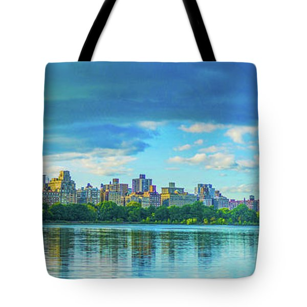Tote Bag featuring the photograph Central Park by Theodore Jones