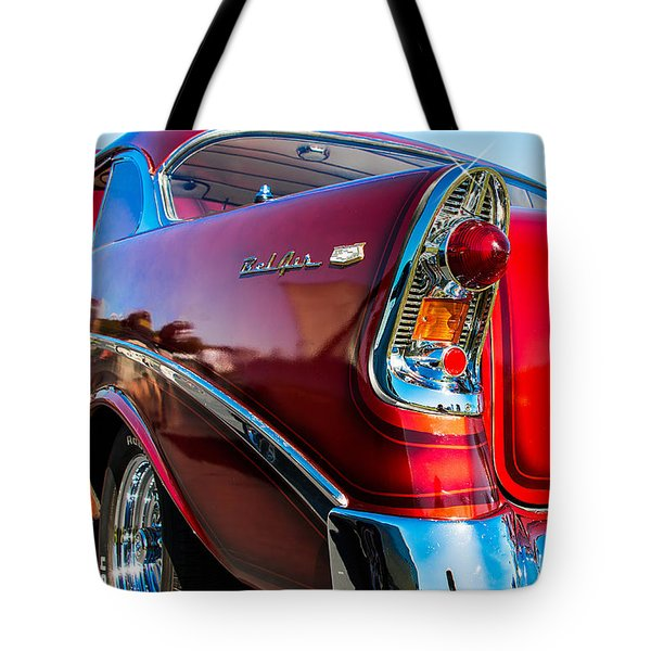 56 Chevy Bel Air Tote Bag