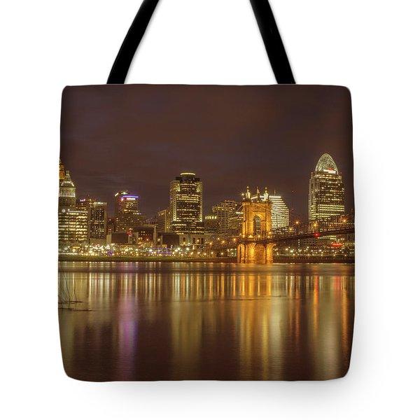 Cincinnati, Ohio Tote Bag by Scott Meyer