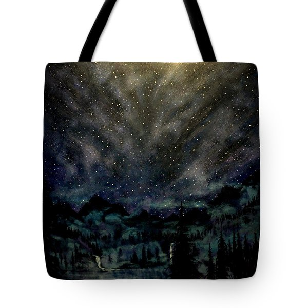Cosmic Light Series Tote Bag by Len Sodenkamp