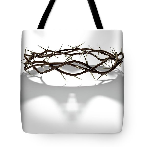 Crown Of Thorns With Royal Shadow Tote Bag