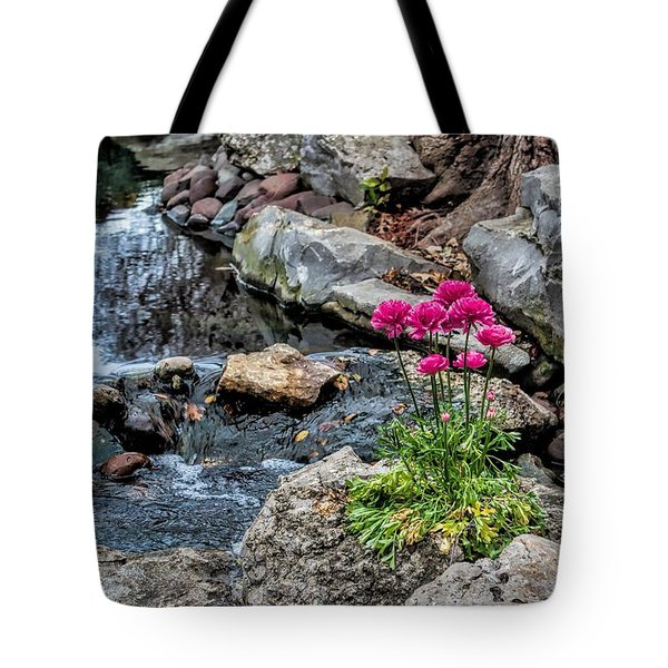 Tote Bag featuring the photograph Dallas Arboretum by Diana Mary Sharpton