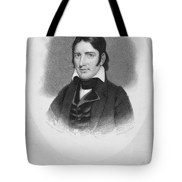 Davy Crockett (1786-1836) Tote Bag by Granger