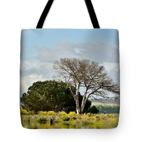 Tote Bag featuring the photograph dead Tree by Werner Lehmann