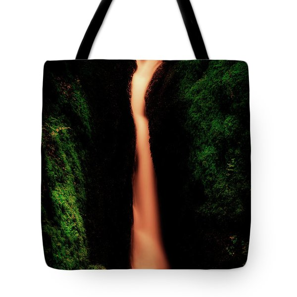 Tote Bag featuring the photograph Dollar Glen In Clackmannanshire by Jeremy Lavender Photography