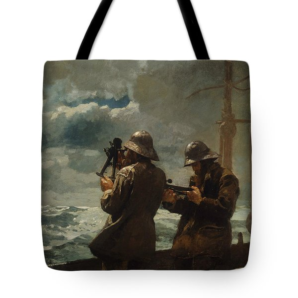 Eight Bells Tote Bag