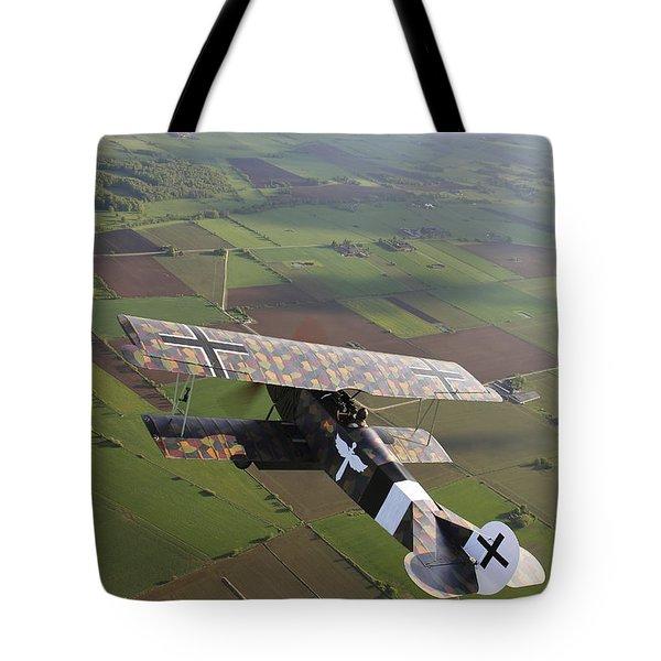 Fokker D.vii World War I Replica Tote Bag by Daniel Karlsson