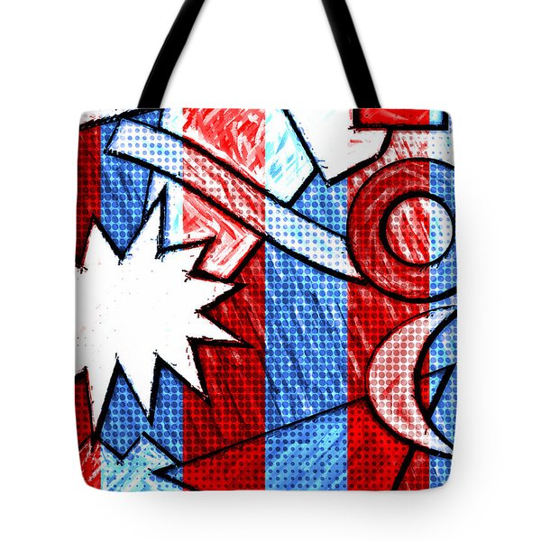 Funky Fanfare Tote Bag
