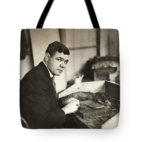 George H. Ruth (1895-1948) Tote Bag by Granger