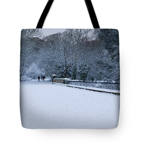 Hampstead Heath In Winter, North Tote Bag