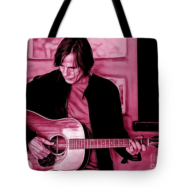 Jackson Browne Collection Tote Bag by Marvin Blaine