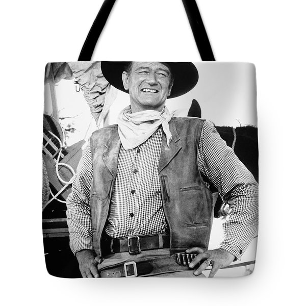 John Wayne (1907-1979) Tote Bag by Granger