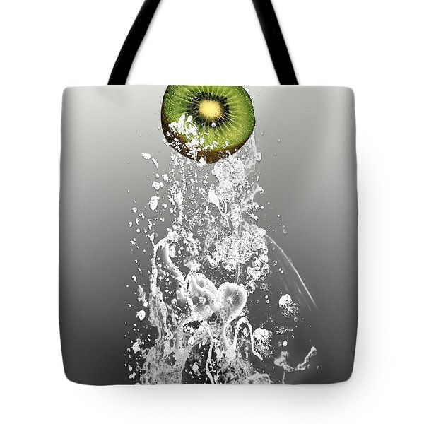 Kiwi Splash Tote Bag
